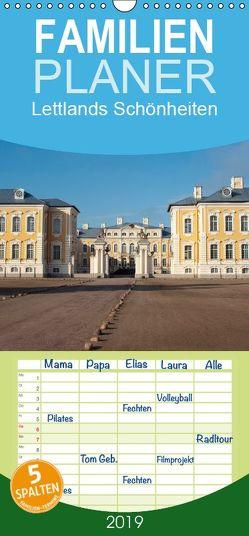 Lettlands Schönheiten – Familienplaner hoch (Wandkalender 2019 , 21 cm x 45 cm, hoch) von N.,  N.