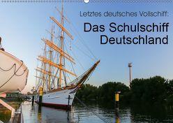 Letztes deutsches Vollschiff: Das Schulschiff Deutschland (Wandkalender 2019 DIN A2 quer) von rsiemer