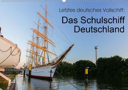 Letztes deutsches Vollschiff: Das Schulschiff Deutschland (Wandkalender 2021 DIN A2 quer) von rsiemer