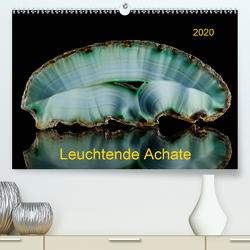 Leuchtende Achate (Premium, hochwertiger DIN A2 Wandkalender 2020, Kunstdruck in Hochglanz) von Reif,  Wolfgang