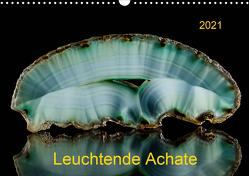 Leuchtende Achate (Wandkalender 2021 DIN A3 quer) von Reif,  Wolfgang