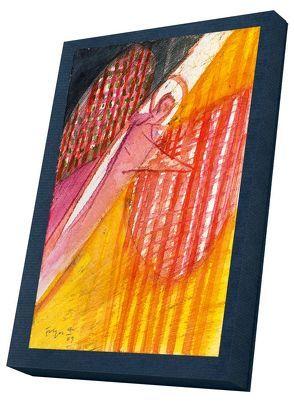 Leuchtende Engel – Kunst-Faltkarten im Schmuckkarton von Felger,  Andreas