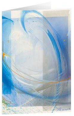 Leuchtender Bote – Kunst-Faltkarten ohne Text (5 Stück) von Münch,  Eberhard