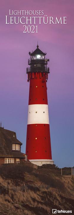 Leuchttürme 2021 – Foto-Kalender – King-Size – 34×98 – Lighthouses