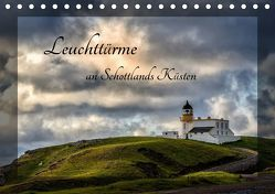 Leuchttürme an Schottlands Küsten (Tischkalender 2019 DIN A5 quer) von Rothenberger,  Bernd