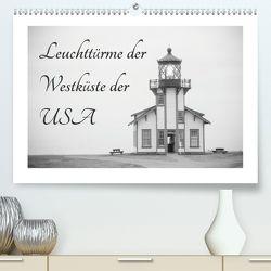 Leuchttürme der Westküste der USA (Premium, hochwertiger DIN A2 Wandkalender 2020, Kunstdruck in Hochglanz) von Kaiser,  Ralf