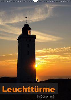 Leuchttürme in Dänemark (Wandkalender 2019 DIN A3 hoch) von Prescher,  Werner
