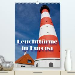 Leuchttürme in Europa (Premium, hochwertiger DIN A2 Wandkalender 2021, Kunstdruck in Hochglanz) von Scholz,  Frauke