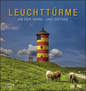 Leuchttürme Kalender 2021 von Eiland