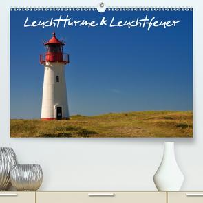 Leuchttürme & Leuchtfeuer (Premium, hochwertiger DIN A2 Wandkalender 2020, Kunstdruck in Hochglanz) von Bade,  Uwe