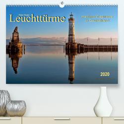 Leuchttürme – maritime Wegweiser in Deutschland (Premium, hochwertiger DIN A2 Wandkalender 2020, Kunstdruck in Hochglanz) von Roder,  Peter