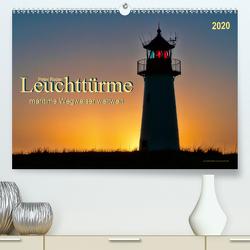 Leuchttürme – maritime Wegweiser weltweit (Premium, hochwertiger DIN A2 Wandkalender 2020, Kunstdruck in Hochglanz) von Roder,  Peter