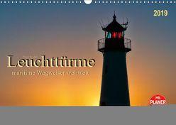 Leuchttürme – maritime Wegweiser weltweit (Wandkalender 2019 DIN A3 quer) von Roder,  Peter
