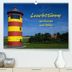Leuchttürme (Premium, hochwertiger DIN A2 Wandkalender 2021, Kunstdruck in Hochglanz) von Scholz,  Frauke