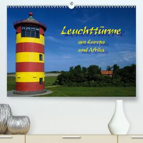 Leuchttürme (Premium, hochwertiger DIN A2 Wandkalender 2020, Kunstdruck in Hochglanz) von Scholz,  Frauke