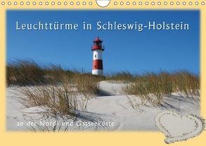 Leuchttürme Schleswig-Holsteins (Wandkalender 2018 DIN A4 quer) von Brandt,  Jessica