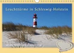 Leuchttürme Schleswig-Holsteins (Wandkalender 2019 DIN A4 quer) von Brandt,  Jessica