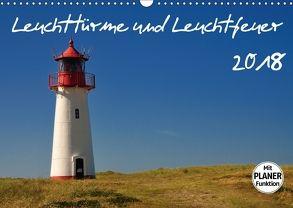 Leuchttürme und Leuchtfeuer (Wandkalender 2018 DIN A3 quer) von Bade,  Uwe