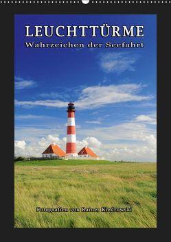 Leuchttürme – Wahrzeichen der Seefahrt (Wandkalender 2019 DIN A2 hoch) von Kiedrowski,  Rainer