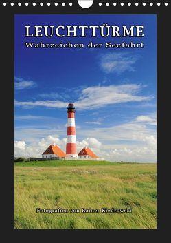 Leuchttürme – Wahrzeichen der Seefahrt (Wandkalender 2019 DIN A4 hoch) von Kiedrowski,  Rainer
