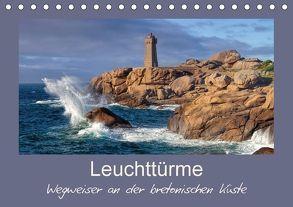Leuchttürme – Wegweiser an der bretonischen Küste (Tischkalender 2018 DIN A5 quer) von LianeM