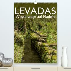 Levadas – Wasserwege auf Madeira (Premium, hochwertiger DIN A2 Wandkalender 2020, Kunstdruck in Hochglanz) von Gimpel,  Frauke