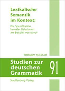 Lexikalische Semantik im Kontext: von Solstad,  Torgrim