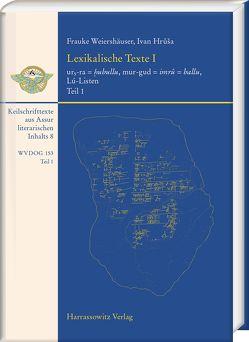 Lexikalische Texte aus Assur I von Hrůša,  Ivan, Weiershäuser,  Frauke