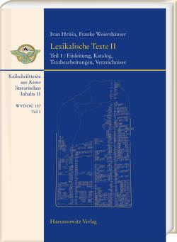 Lexikalische Texte II von Hrůša,  Ivan, Weiershäuser,  Frauke