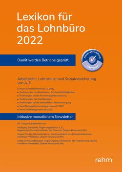 Lexikon für das Lohnbüro 2022 (E-Book EPUB) von Plenker,  Jürgen, Schaffhausen,  Heinz-Willi, Schönfeld,  Wolfgang
