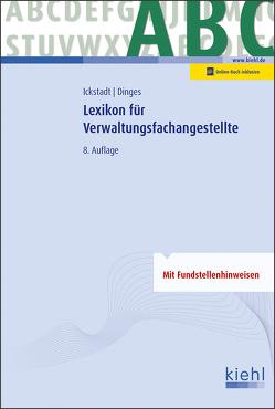 Lexikon für Verwaltungsfachangestellte von Dinges,  Marvin, Ickstadt,  Ewald