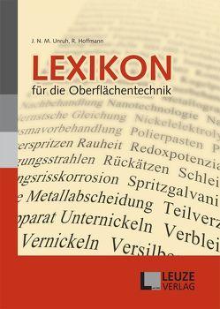 Lexikon für die Oberflächentechnik von Hoffmann,  Reinhold, Unruh,  J N