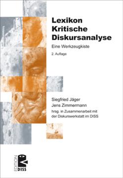 Lexikon Kritische Diskursanalyse von Jaeger,  Siegfried, Zimmermann,  Jens