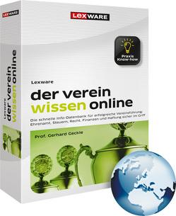 Lexware der verein wissen online von Geckle,  Gerhard