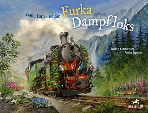 Liam, Lara und die Furka-Dampfloks von Kammerecker,  Swantje, Svensson,  Annika