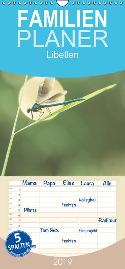 Libellen – Familienplaner hoch (Wandkalender 2019 , 21 cm x 45 cm, hoch) von Kulla,  Alexander