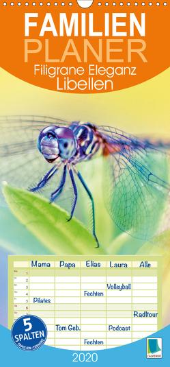 Libellen: Filigrane Eleganz (Wandkalender 2020 , 21 cm x 45 cm, hoch) von CALVENDO