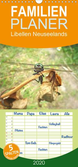 Libellen Neuseelands – Familienplaner hoch (Wandkalender 2020 , 21 cm x 45 cm, hoch) von Gendera,  Stefanie