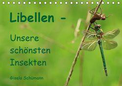 Libellen – Unsere schönsten Insekten (Tischkalender 2019 DIN A5 quer) von Schuemann,  Gisela