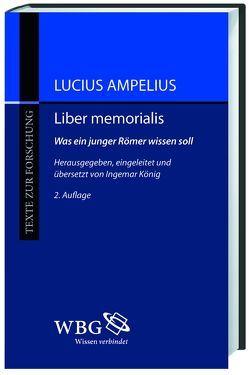 Liber memorialis von Ampelius,  Lucius, König,  Ingemar