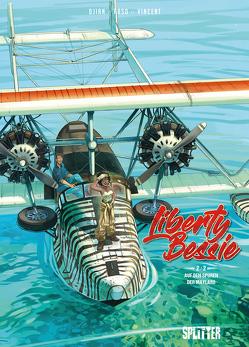 Liberty Bessie. Band 2 (von 2) von Djian,  Jean-Blaise, Pierre-Roland, Saint-Dizier, Vincent