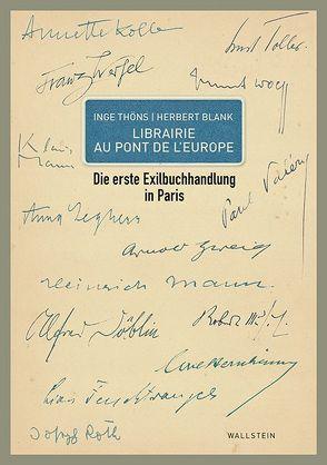 Librairie Au Pont de l`Europe von Thöns,  Inge