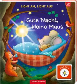Licht an, Licht aus: Gute Nacht, kleine Maus von Bieber,  Hartmut