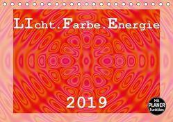 LIcht.Farbe.Energie (Tischkalender 2019 DIN A5 quer)