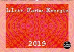 LIcht.Farbe.Energie (Wandkalender 2019 DIN A2 quer) von Schilling,  Linda