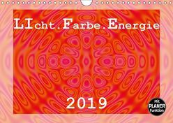 LIcht.Farbe.Energie (Wandkalender 2019 DIN A4 quer)
