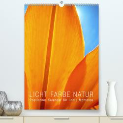 Licht Farbe Natur (Premium, hochwertiger DIN A2 Wandkalender 2021, Kunstdruck in Hochglanz) von bilwissedition.com Layout: Babette Reek,  Bilder: