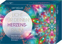 Licht für deinen Herzensraum- Impulse zum Zentrieren und Erinnern von Müller,  Grit