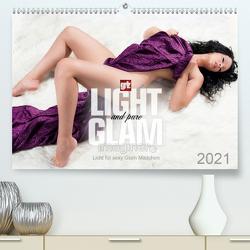 Licht für sexy Glam-Mädchen (Premium, hochwertiger DIN A2 Wandkalender 2021, Kunstdruck in Hochglanz) von imaginer.at