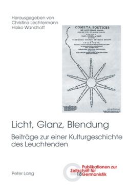 Licht, Glanz, Blendung von Lechtermann,  Christina, Wandhoff,  Haiko